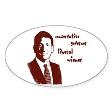 Funny Sanford Oval Decal