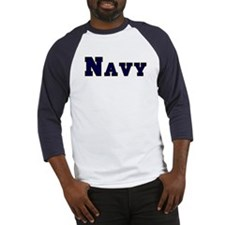 """Navy Blue"" Baseball Jersey"