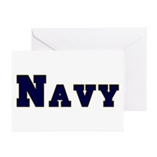 """Navy Blue"" Greeting Cards (Pk of 20)"