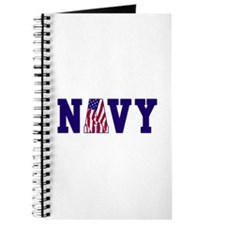 """Navy Bold"" Journal"