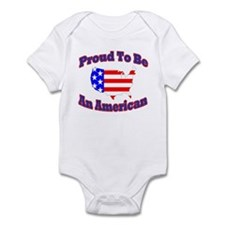 T-Shsirt Proud American Body Suit