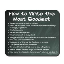How to Write the Most Goodest Chalkboard Mousepad
