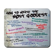 How to Write the Most Goodest Graffiti Mousepad