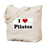 I Love Pilates Tote Bag