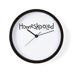 Homeskooled Wall Clock