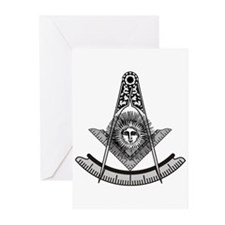 Past Master Greeting Cards (Pk of 10)