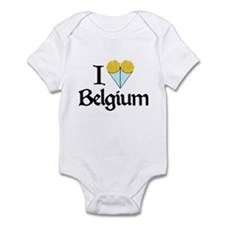 I Love Belgium (Fries) Infant Bodysuit