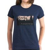 Forks is a Pain in the Neck Tee