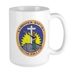Bible Gun Camp Large Mug