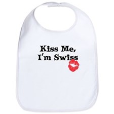 Kiss Me, I'm Swiss Bib
