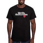 Kiss Me, I'm Macedonian Men's Fitted T-Shirt (dark