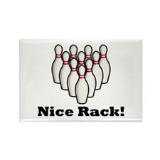 Nice Rack! Rectangle Magnet (100 pack)