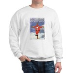 Santa Cross Sweatshirt