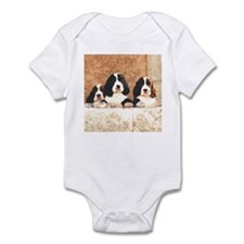English Springer Pups 2 Infant Bodysuit