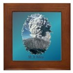 Mt. St. Helens Framed Tile