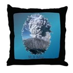 Mt. St. Helens Throw Pillow