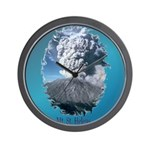 Mt. St. Helens Wall Clock