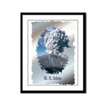 Mt. St. Helens Framed Panel Print