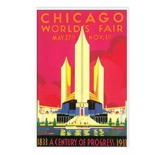 Chicago World Fair 1933 Postcards (Package of 8)
