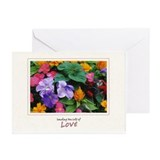 Colorful Flower Pot Greeting Cards (Pk of 20)