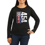 454 SS RWB Women's Long Sleeve Dark T-Shirt