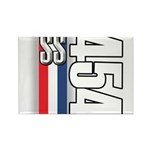 454 SS RWB Rectangle Magnet (100 pack)