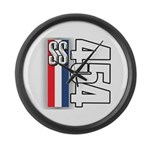 454 SS RWB Large Wall Clock