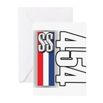 454 SS RWB Greeting Cards (Pk of 10)