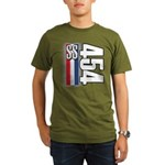 454 SS RWB Organic Men's T-Shirt (dark)