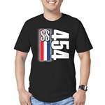 454 SS RWB Men's Fitted T-Shirt (dark)