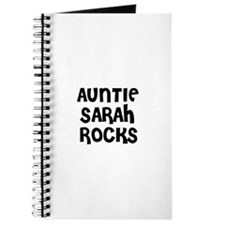 AUNTIE SARAH ROCKS Journal