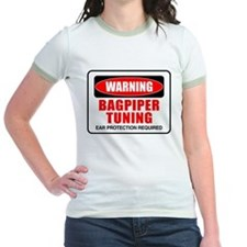 Warning Bagpiper Tuning T