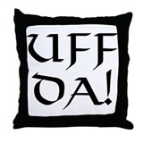 Uff Da! Throw Pillow