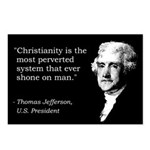 Jefferson Quote Postcards (Package of 8)