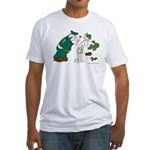 Sarge Yelling Fitted T-Shirt