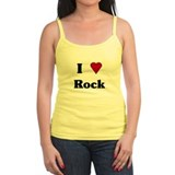 """I Love Rock"" Ladies Top"
