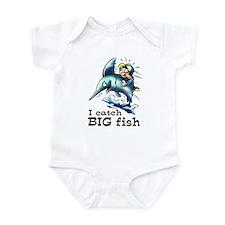 I Catch Big Fish Infant Bodysuit