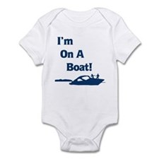 I'm On A Boat 2 Onesie