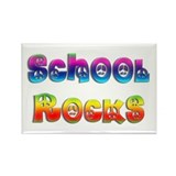 School Rocks Rectangle Magnet