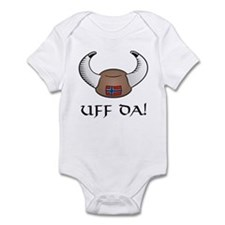 Uff Da! Viking Hat Infant Bodysuit