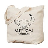 Uff Da! Norway Viking Hat Tote Bag