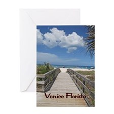 Venice Florida Greeting Card