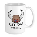 Uff Da! Norway Viking Hat Mug