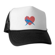 Love Triangle Trucker Hat