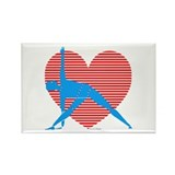 Love Triangle Rectangle Magnet (10 pack)