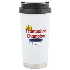 Trampoline Champion Ceramic Travel Mug