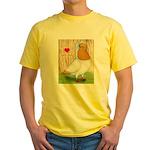 I Heart Nuns Yellow T-Shirt
