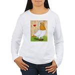 I Heart Nuns Women's Long Sleeve T-Shirt