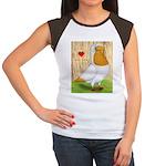 I Heart Nuns Women's Cap Sleeve T-Shirt