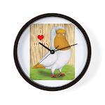 I Heart Nuns Wall Clock
